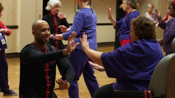Instructing Tai Chi for the Red Hat Ladys